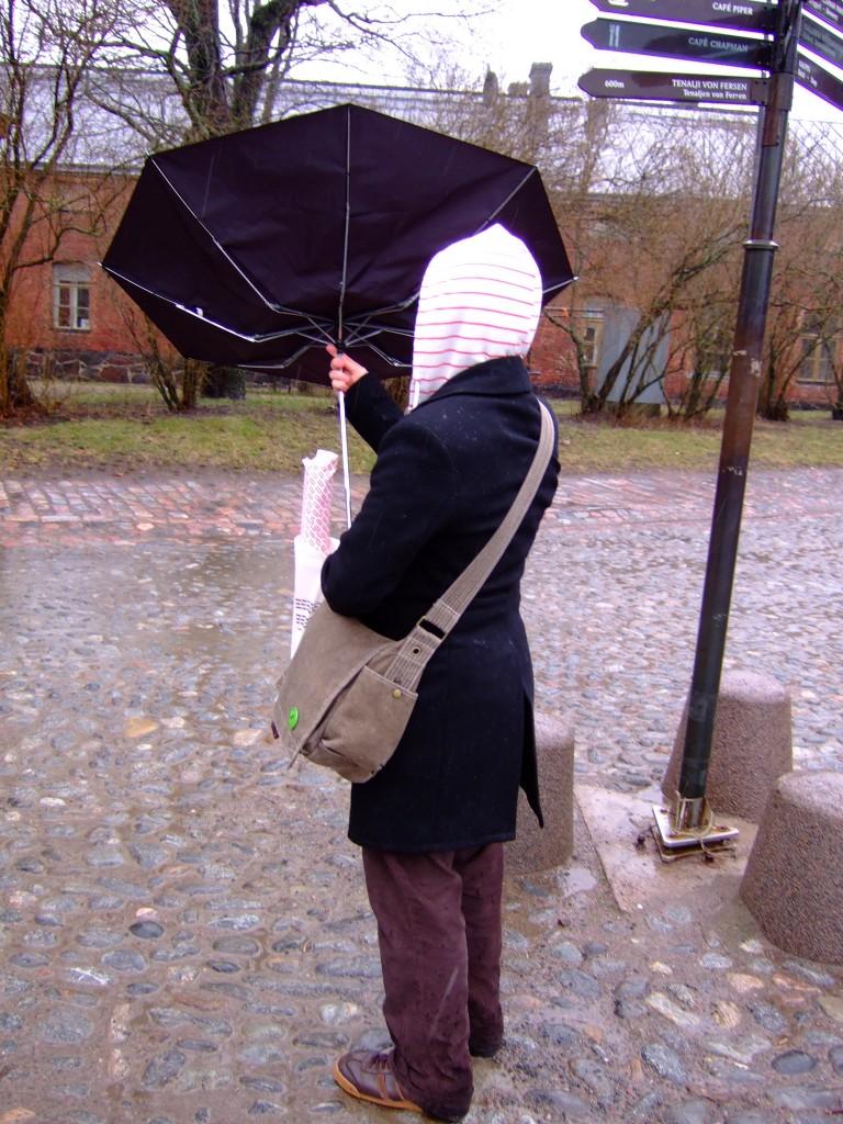 Hateful umbrella